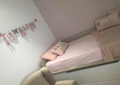 Dormitorio de Carla