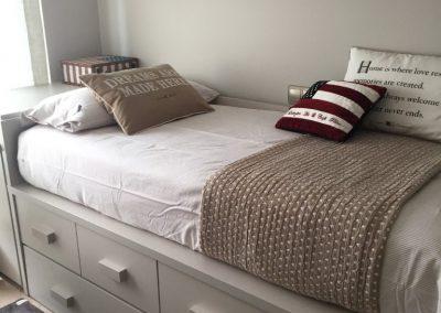 Dormitorio de Pau